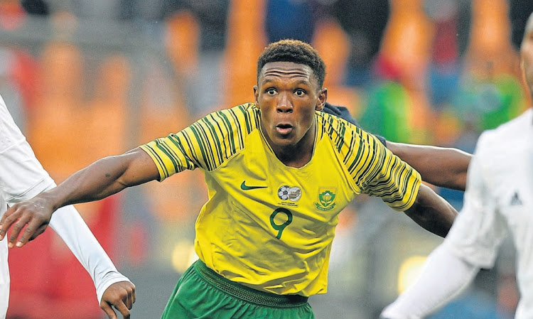 Strasbourg and Bafana Bafana striker Lebo Mothiba
