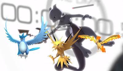 Legendary Pokemon di Pokemon GO