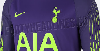 f334563c5 Garish  Nike Tottenham 18-19 Goalkeeper Kit Released