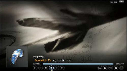 القنوات العربية والأجنبية IPTV على برنانج KODI مع إضافة Maverick TV