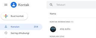 Cara Backup Nomor Ponsel ke Google Kontak Secara Otomatis
