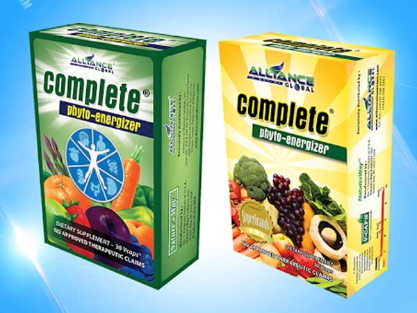 Complete Phyto-Energizer Food Supplements - Shop Online