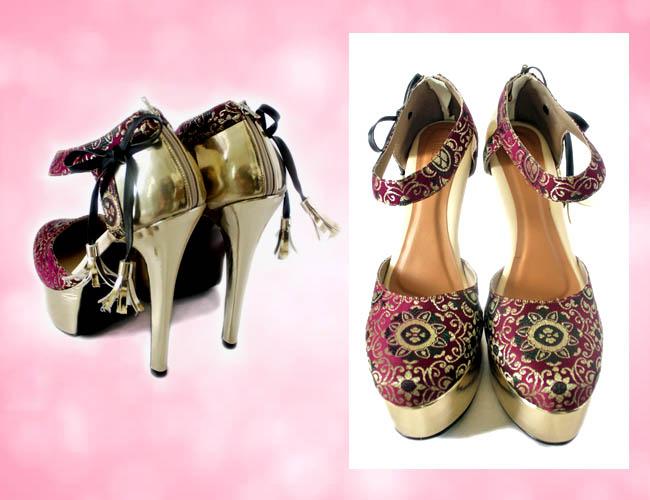 Platrofm hugh heels cantik ini bernama sigourney