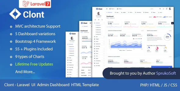 Best Laravel Dashboard Template