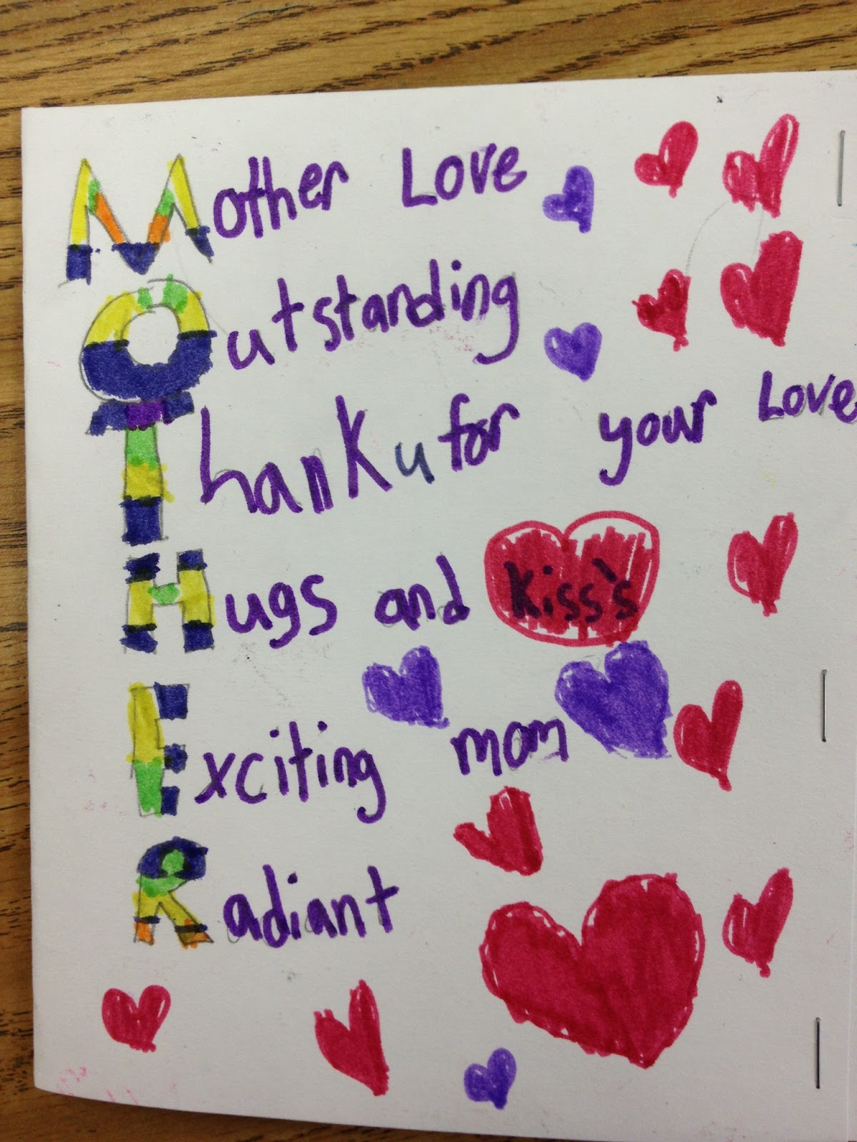 Love You Mom Poems In Spanish And English & Becuo