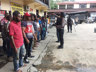 Aksi Dukung ULMWP, 34 Orang Ditangkap