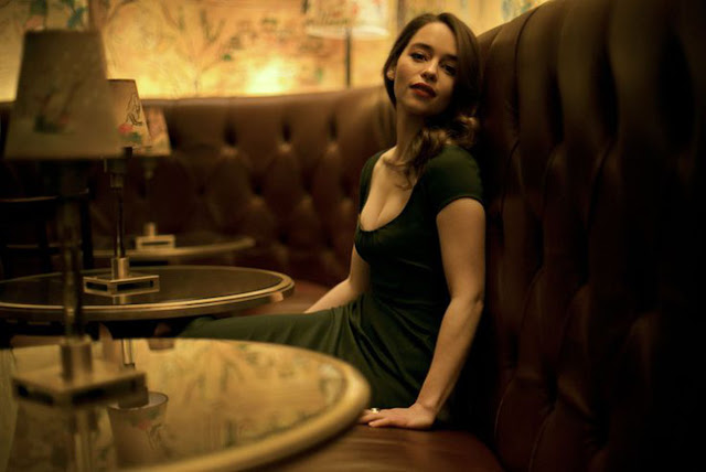 Hot girls Emilia Clarke sexy lady in move Me Before You 2