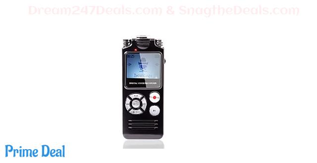 50% OFF Digital Voice Recorder 16GB