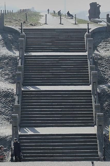 Stairway to heaven in Scheveningen