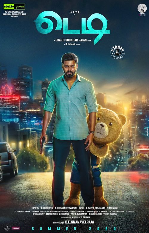 Teddy (2021) Tamil Movie | Arya, Sayyeshaa Saigal