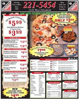 Black Jack Pizza coupons february 2017