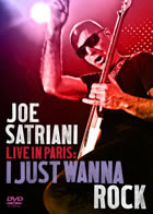 Joe Satriani: Live In Paris: I Just Wanna Rock! (DVD)