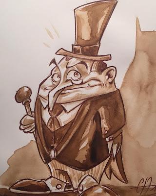 """""""Le Pingouin n'était pas un manchot dans l'élaboration de crimes et délits en tous genres..."""" #batmanfaitdelhumour. - ©Guillaume Néel"""