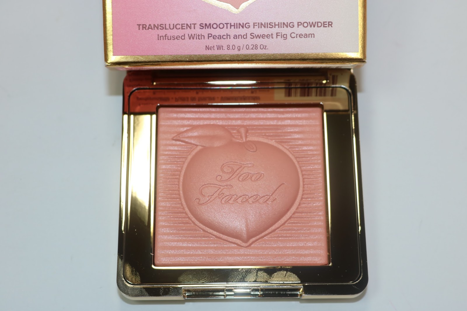 TooFaced Peach Blur Finishing Powder