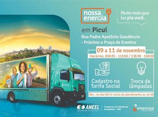 Projeto Nossa Energia chegou em Picuí. Saiba como participar