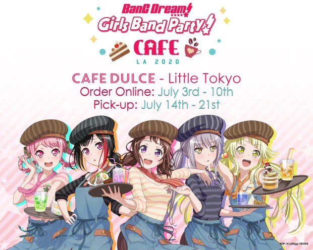 """""""BanG Dream! Girls Band Party! Online Cafe"""" Event Report"""