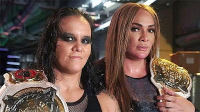 Nia Jax Raw SmackDown Tag Womens Shayna Baszler