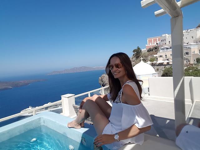 Hotel bom e barato em Santorini
