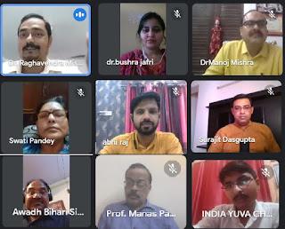 #JaunpurLive : कोरोना से खतरे में आई सामाजिक सुरक्षा- प्रो० राघवेन्द्र