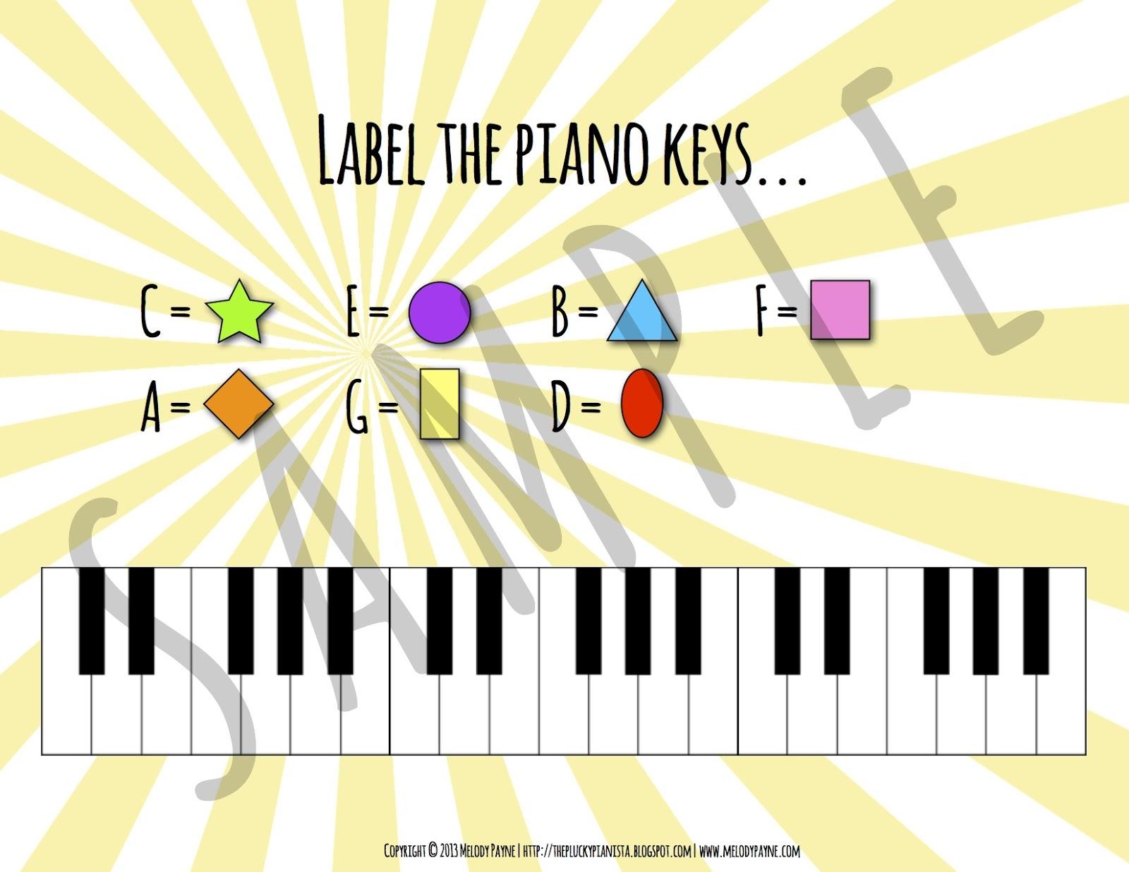 Keys Are A Breeze Piano Keyboard Packet