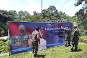 Korem 061/SK Himbau Dukung Vaksinasi  Nasional
