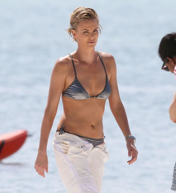 Charlize Theron  sexually harassment by the directorr