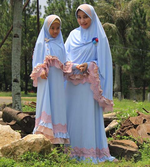 gamis syari ibu dan anak