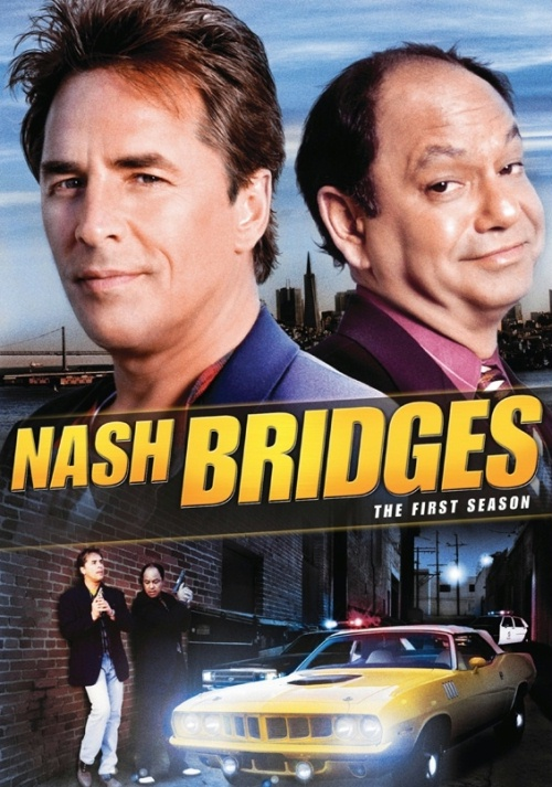 nash bridges serial recenzja plakat don johnson
