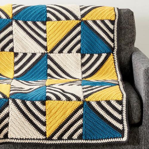 Crochet A Tilt A Whirl Afghan - Free Pattern