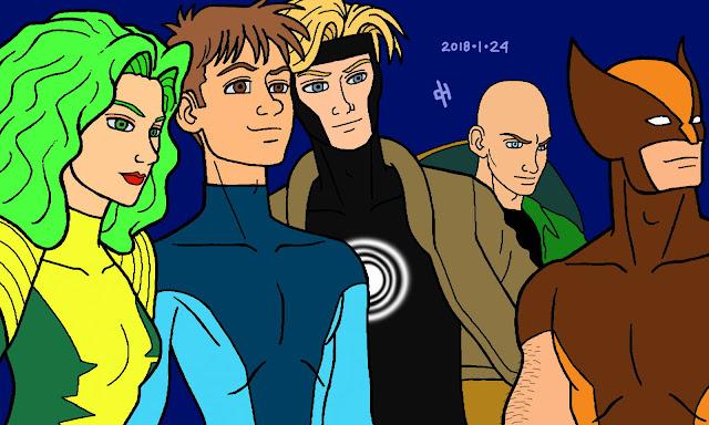 Icemaster's X-Men