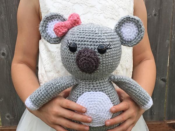 Amigurumi Koala Bear - A Free Crochet Pattern