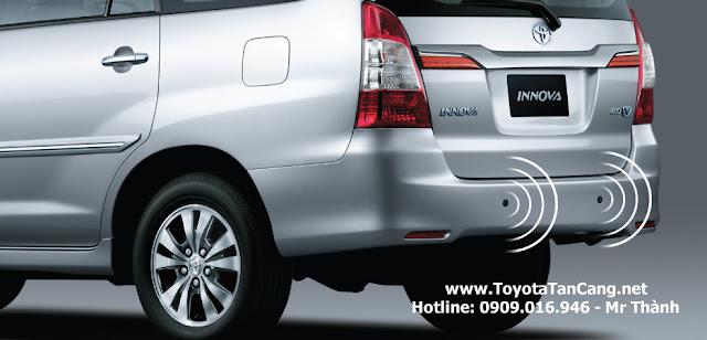 toyota innova 2016 toyota tan cang cam bien lui - Đánh giá xe gia đình đa dụng Toyota Innova 2016 : Vô đối tại Việt Nam - Muaxegiatot.vn