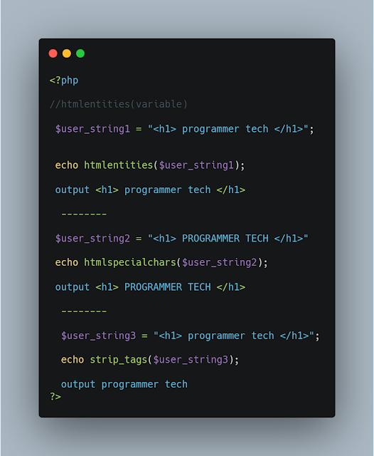 PHP STRIP_TAGS