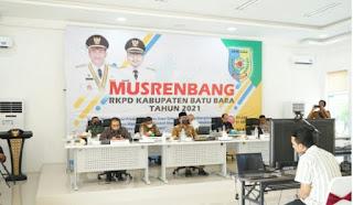 Bupati Zahir Sampaikan 5 Prioritas Pembangunan Tahun 2021