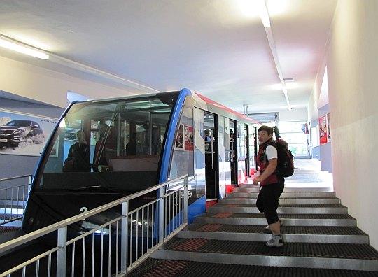 Dolna stacja kolejki linowo-terenowej w Starym Smokowcu