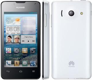 Harga Huawei Ascend Y300 Terbaru, Menggunakan Layar 4.0 Inch IPS LCD