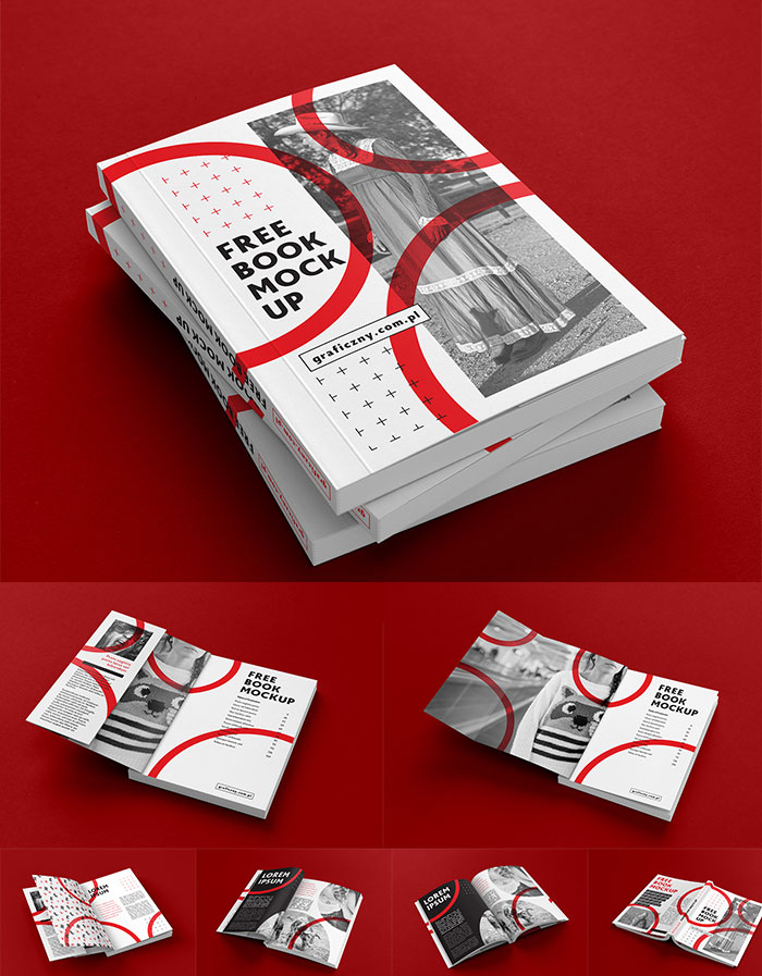 Book Mock-up PSD
