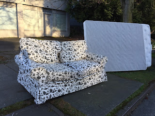 Welcome Back to Seattle - Abandoned Couch and Mattress
