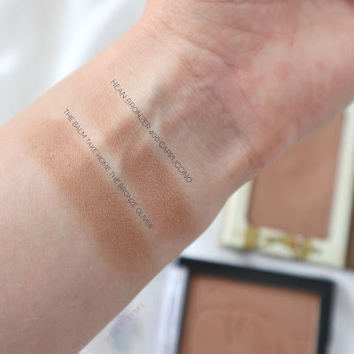 Top 4 Bronzers for Light Complexion  swatches