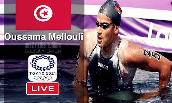 Watch Oussama Mellouli Live Streaming 10 km Marathon Swimming Olympic Games Tokyo 2020