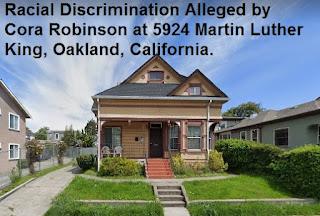 cora robinson, oakland, california, real estate, appraisal, discrimination, 5924 martin luther king, duplex, bias, mary cummins