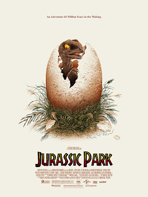 Jurassic Park Screen Print by Doaly x Bottleneck Gallery x Vice Press
