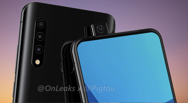 سامسونج تعمل على هاتف كاميرا السيلفي المنبثقة مع الكاميرات  تسريبات تكشف عن أول هاتف ذكي من سامسونج مزود بكاميرا   هذا هو أول هاتف Samsung مزود بكاميرا منبثقة