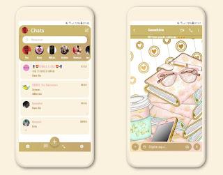 Rc Galx Phone & Book Theme For YOWhatsApp & Fouad WhatsApp By Mary Silva