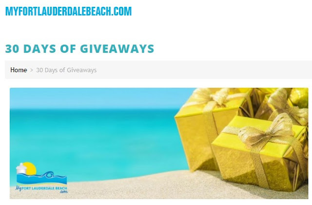 30 Days Of Giveaways Sweepstakes