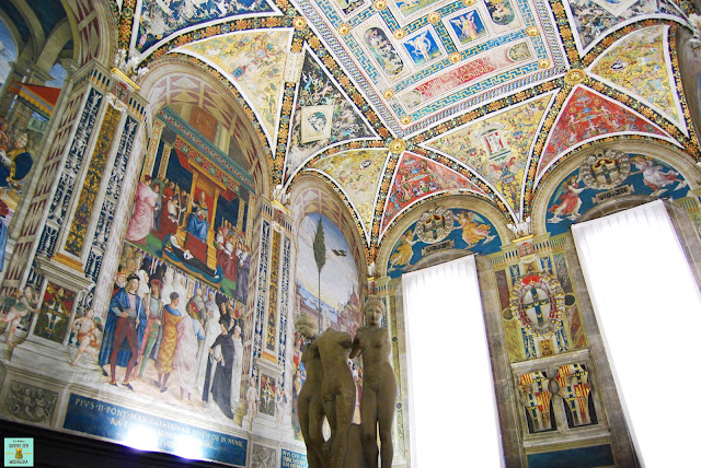 Biblioteca Piccolomini en el Duomo de Siena
