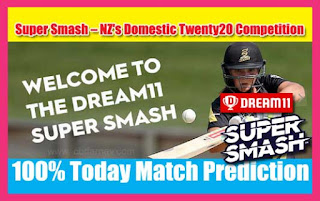 Today Match Prediction Super Smash T20