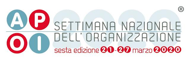 Paroladordine Settimana dell'organizzazione APOI 2020 professional organizer