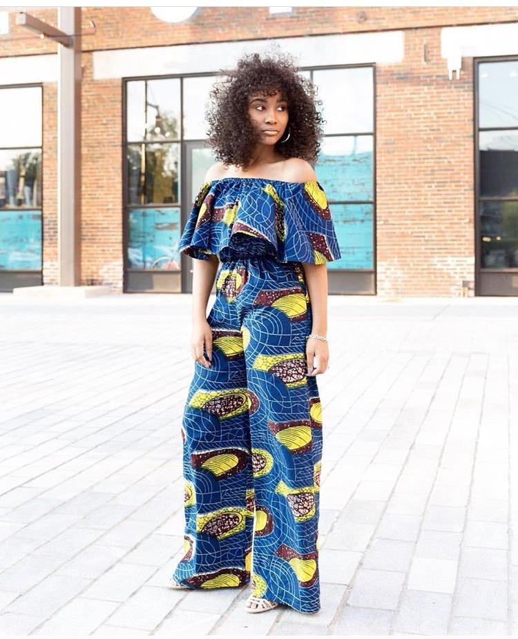 Ankara Jumpsuit Styles To Slay In