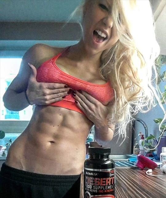 Fitness Girl Bianca Stuhlpfarrer Instagram photos